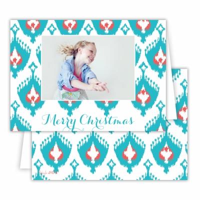 Merry Christmas Elsie Robins Egg Folded Photocard
