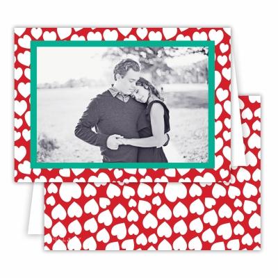 Lovestruck Red Folded Photocard