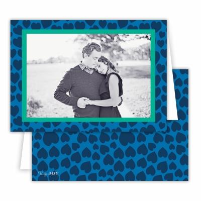 Lovestruck Navy Folded Photocard