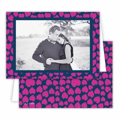 Lovestruck Fuchsia Folded Photocard