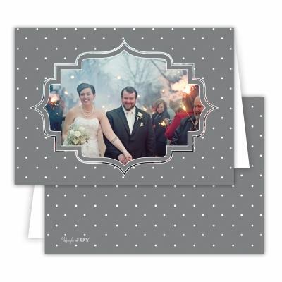 Pin Dot Dark Grey Folded Photocard