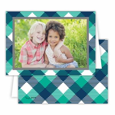Tartan Jewel Folded Photocard
