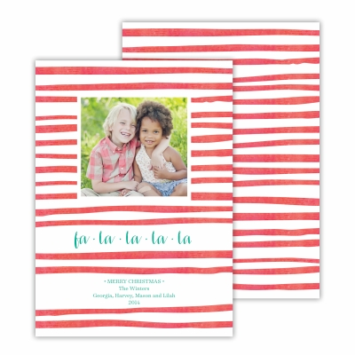 Candy Cane Red Photocard