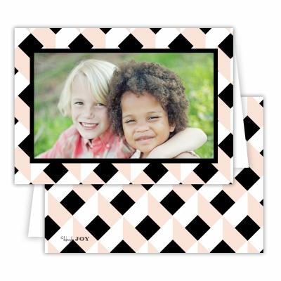 Golden Girl Black Folded Photocard