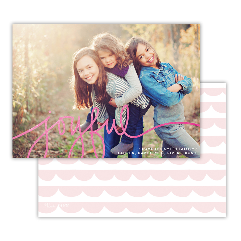 Simple Joys Ballet with Foil Joyful Photocard