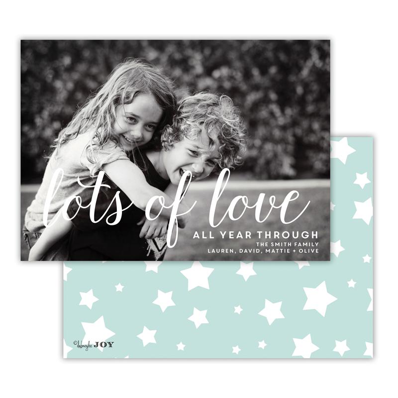 Stars Sea Lots of Love Photocard