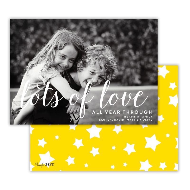 Stars Sunshine Lots of Love Photocard
