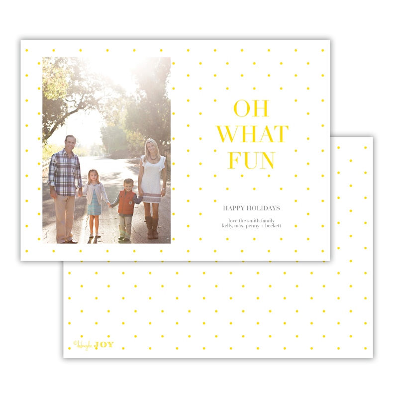 Sweet Dots Sunshine Photocard