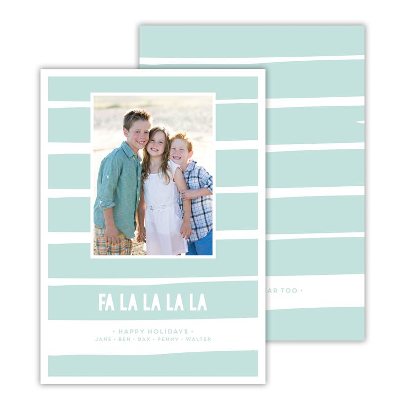 Fa La La La La Sea Christmas Photocard