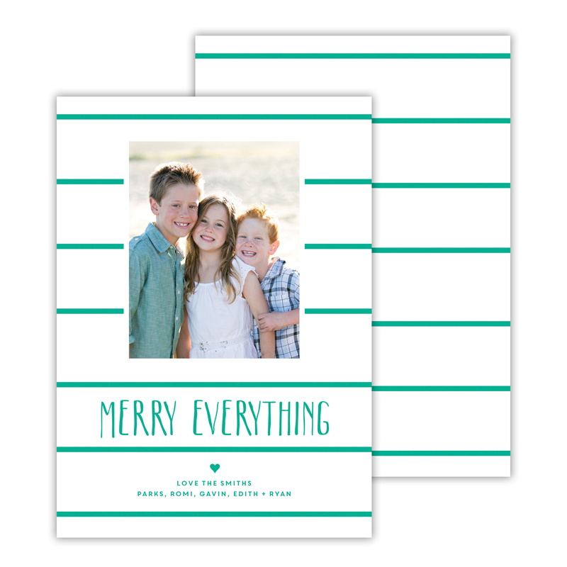 Simple Lines Jewel Merry Everything Photocard