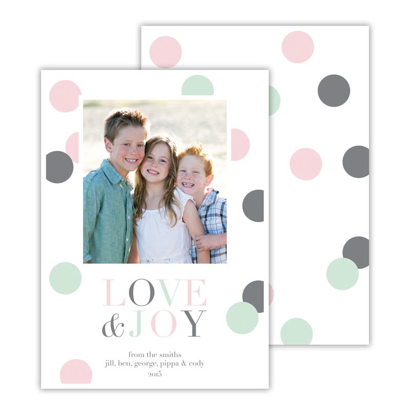 Gumballs Mint Love & Joy Photocard