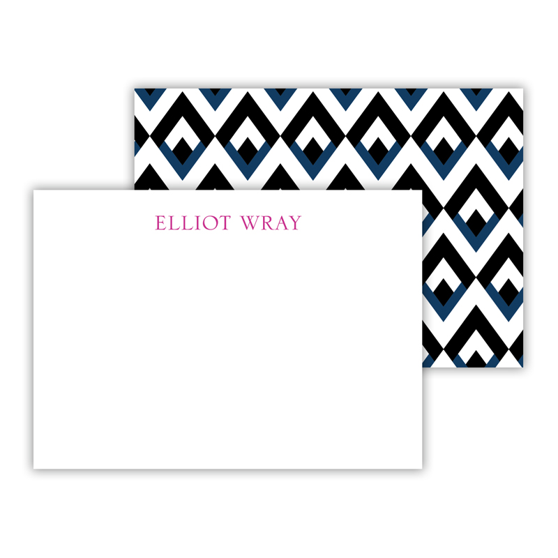 Remi Personalized Mini Flat Note Card (25 cards)
