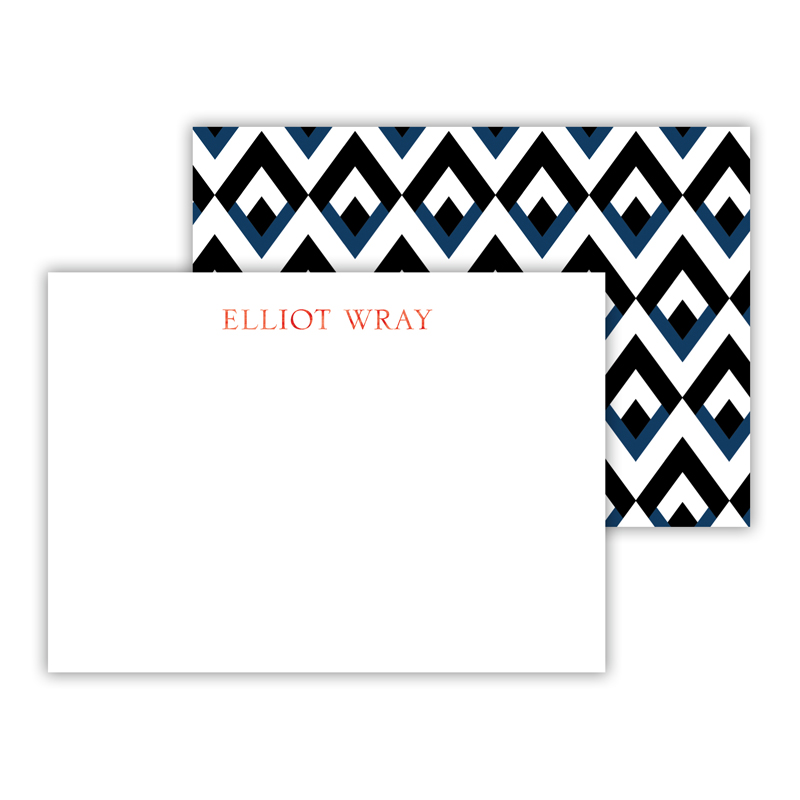 Remi Foil Personalized Mini Flat Card with Foil Accents (25 cards)