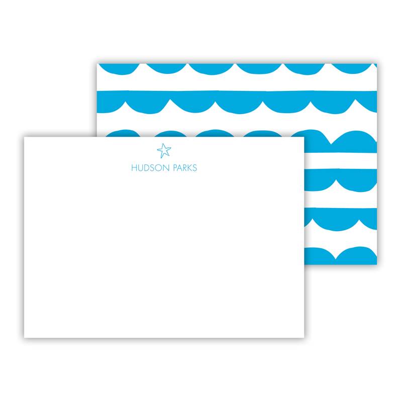 Let's Party Personalized Mini Flat Notes