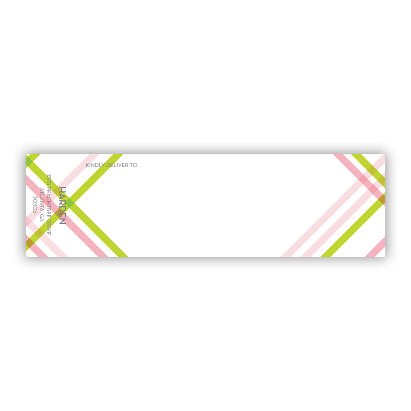 Theo 2 Personalized Wrap Around Address Labels (10 labels)