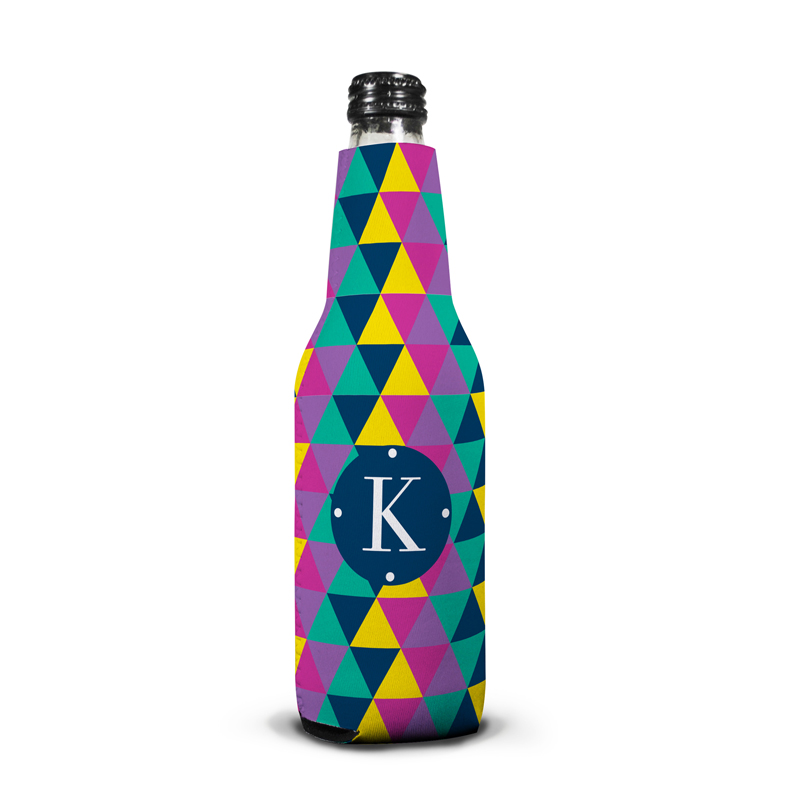 Acute Personalized Bottle Koozie