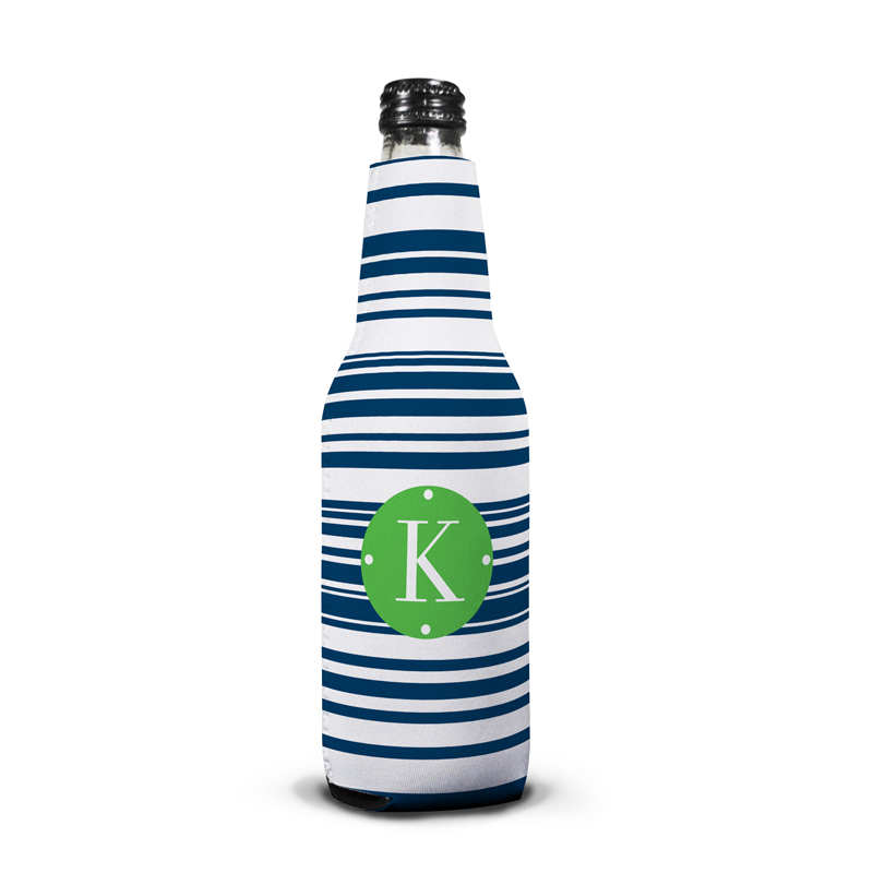 Block Island Personalized Bottle Koozie