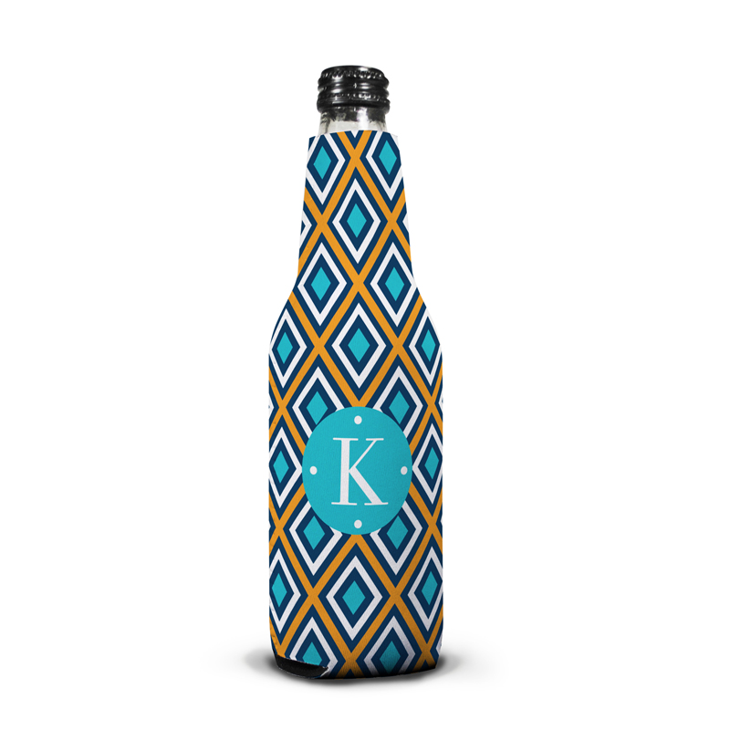 Lantern Personalized Bottle Koozie