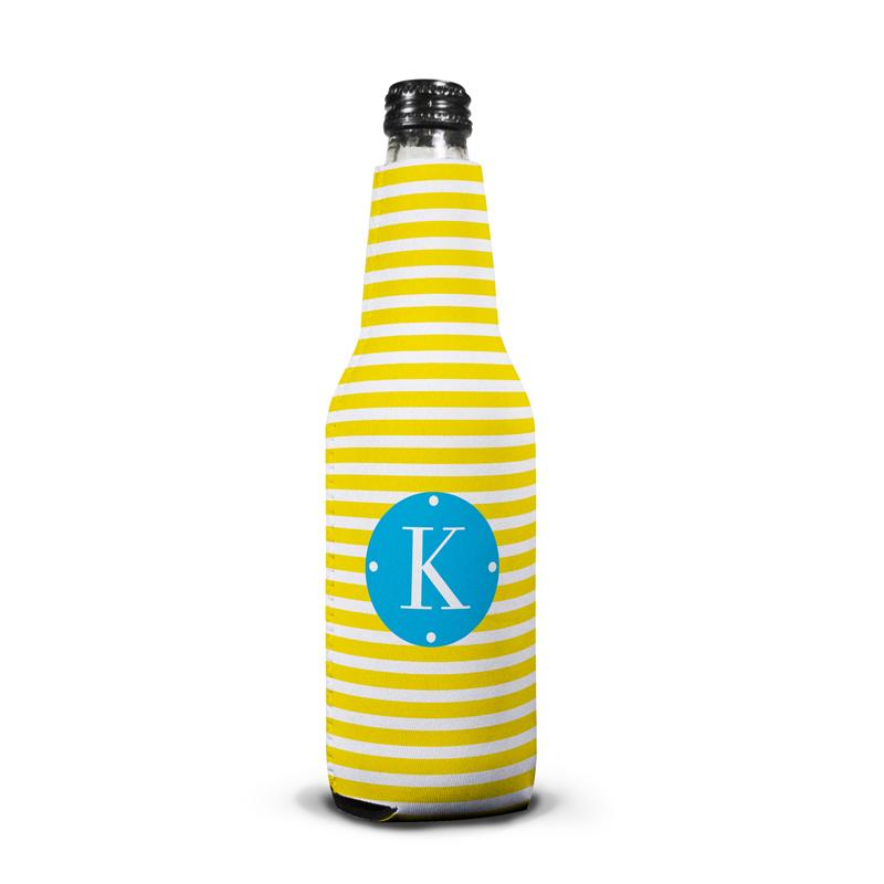Cabana Personalized Bottle Koozie