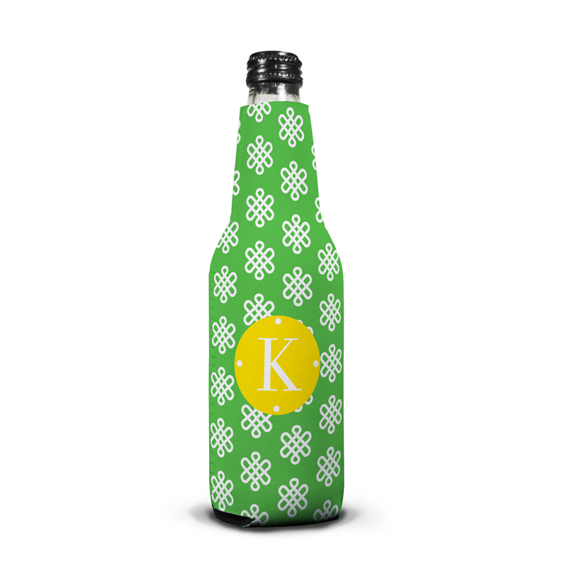 Clementine Personalized Bottle Koozie