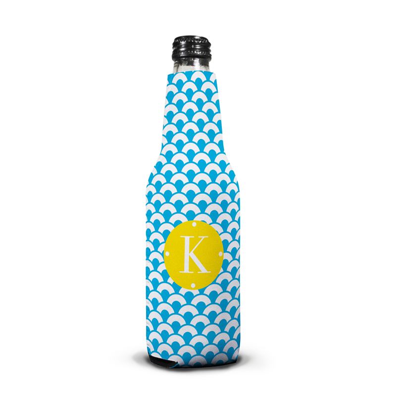 Coins Personalized Bottle Koozie