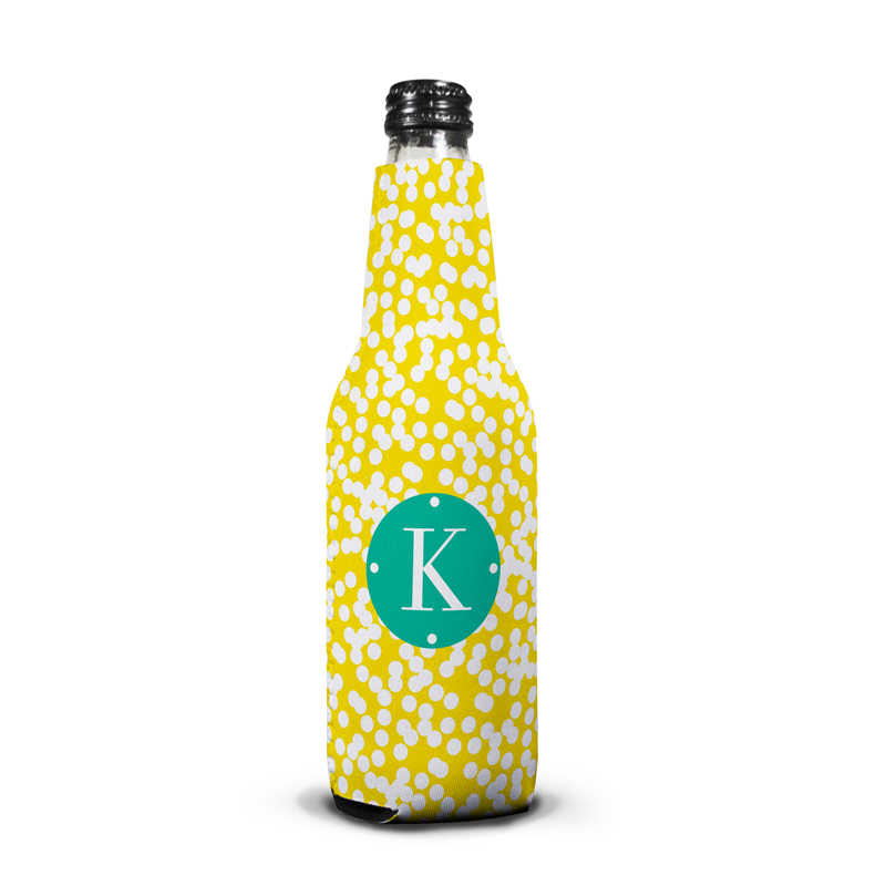 Hole Punch Personalized Bottle Koozie