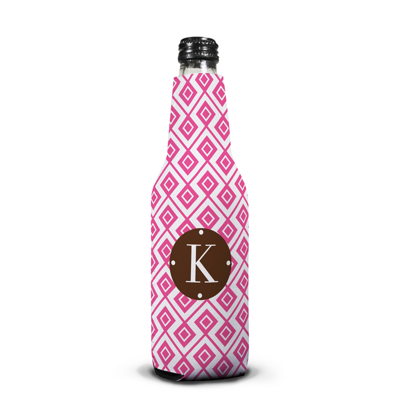 Lucy Personalized Bottle Koozie