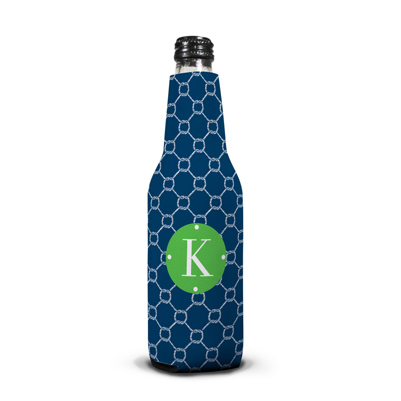Rope Personalized Bottle Koozie
