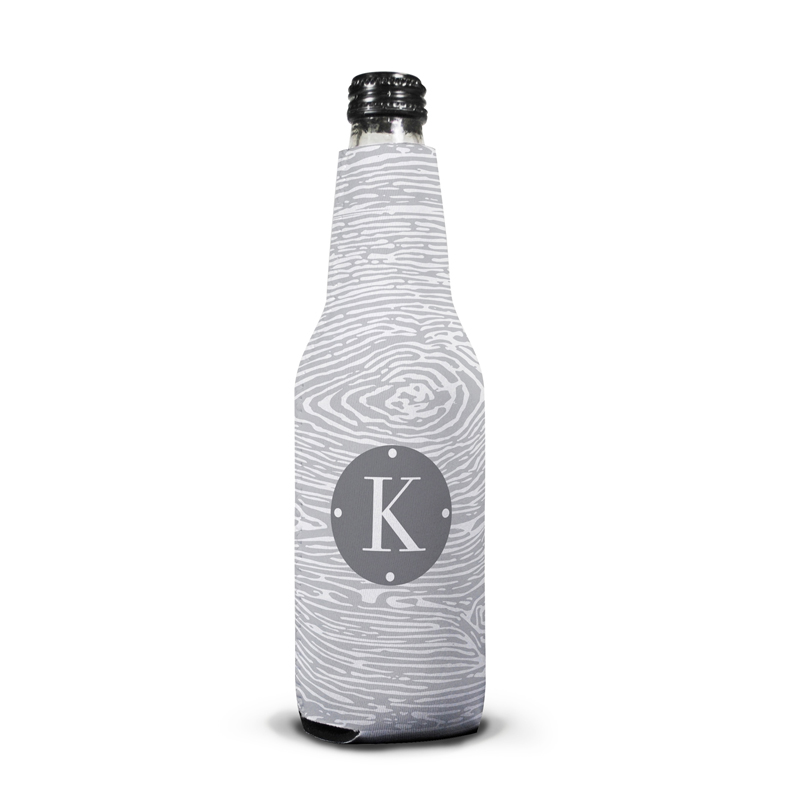 Varnish Personalized Bottle Koozie