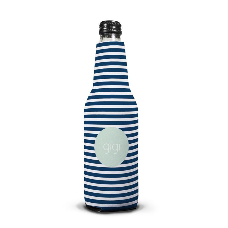 Cabana 3 Personalized Bottle Koozie