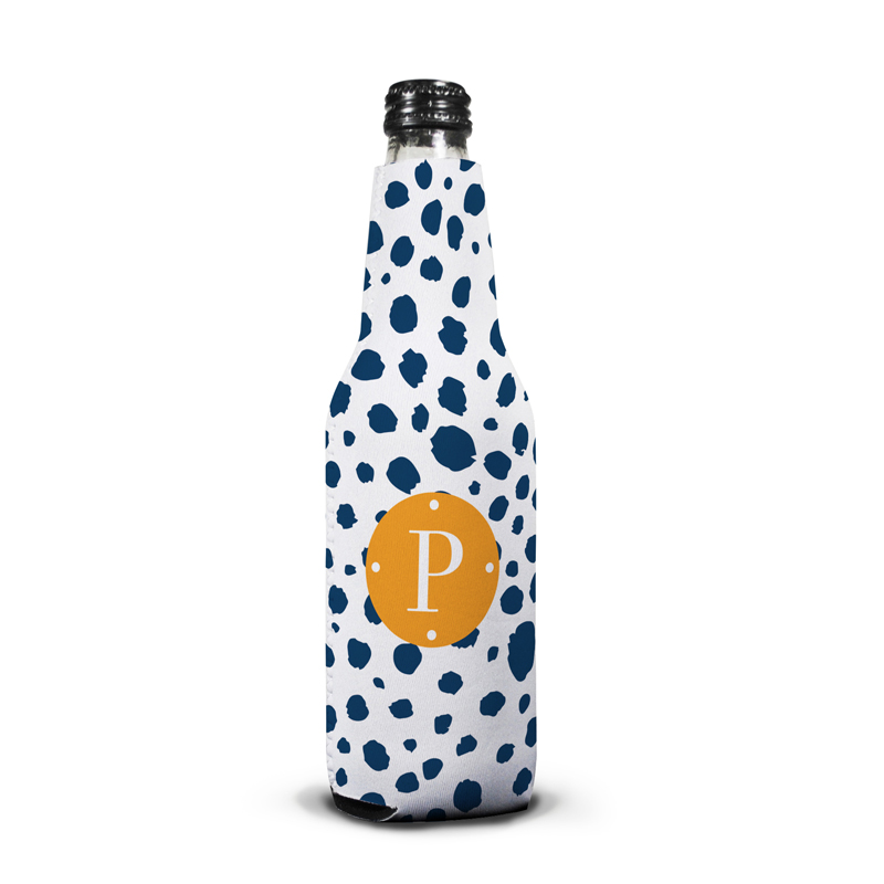 Cheetah Personalized Bottle Koozie