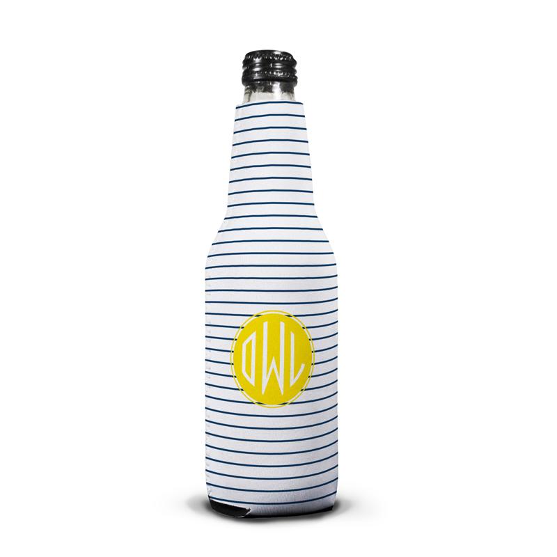 Pinny Personalized Bottle Koozie