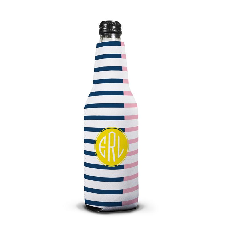 Twice As Nice 3 Personalized Bottle Koozie