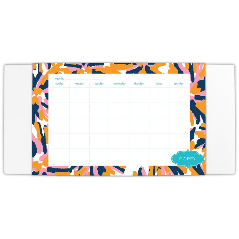 Fireworks Personalized Blotter & 25 Page Pad
