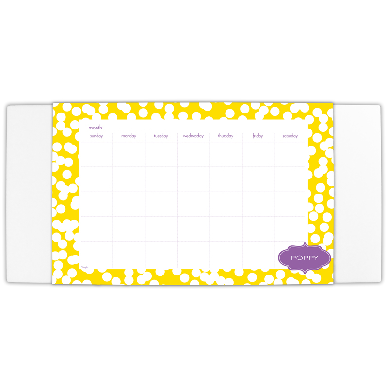 Hole Punch Personalized Blotter & 25 Page Pad