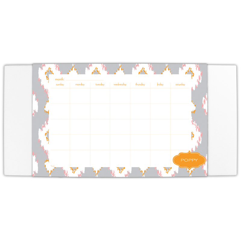 Mirage Personalized Blotter & 25 Page Pad