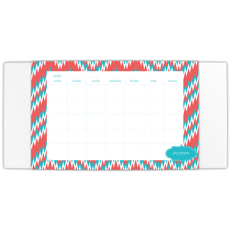Mission Fabulous Personalized Blotter & 25 Page Pad