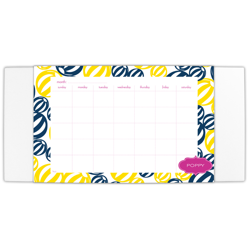 Palm Springs Personalized Blotter & 25 Page Pad