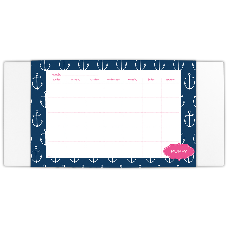 Salty Personalized Blotter & 25 Page Pad