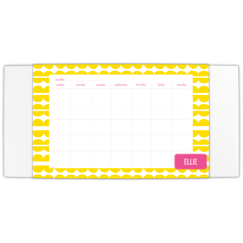 Caterpillar Personalized Blotter & 25 Page Pad