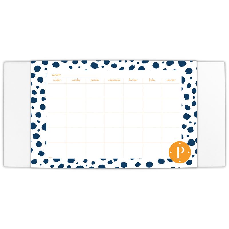 Cheetah Personalized Blotter & 25 Page Pad