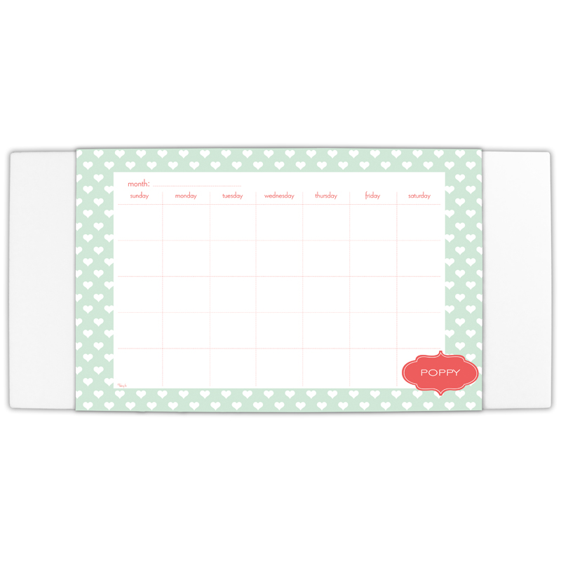 Minnie Personalized Blotter & 25 Page Pad