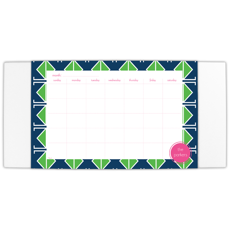Table Tennis Personalized Blotter & 25 Page Pad