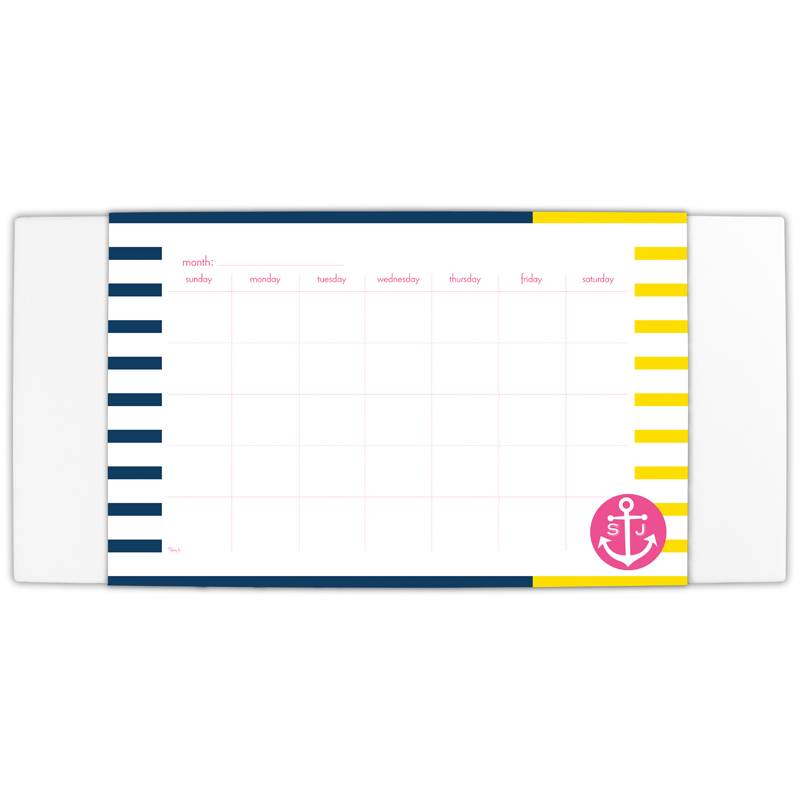 Twice As Nice Personalized Blotter & 25 Page Pad
