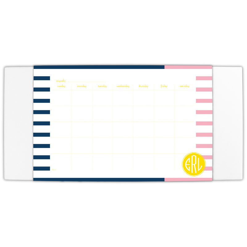 Twice As Nice 3 Personalized Blotter & 25 Page Pad
