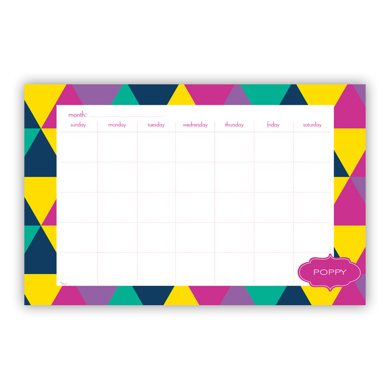 Acute Personalized Blotter Pad Refill, 25 Page Pad