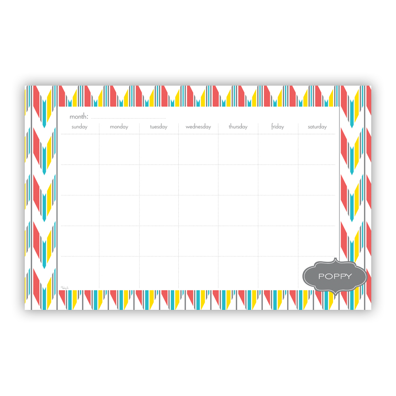 Arrowhead Personalized Blotter Pad Refill, 25 Page Pad