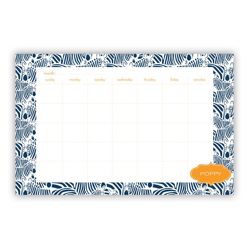 Bruno Personalized Blotter Pad Refill, 25 Page Pad