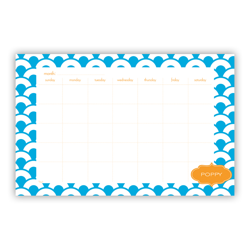 Coins Personalized Blotter Pad Refill, 25 Page Pad