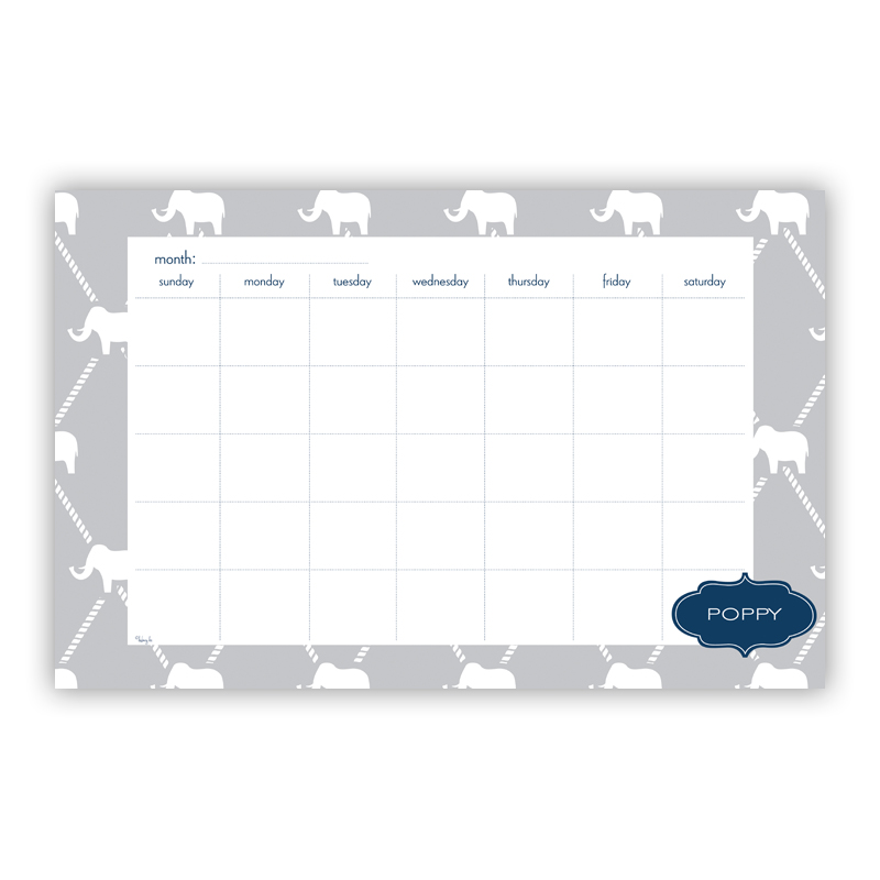 Dumbo Personalized Blotter Pad Refill, 25 Page Pad